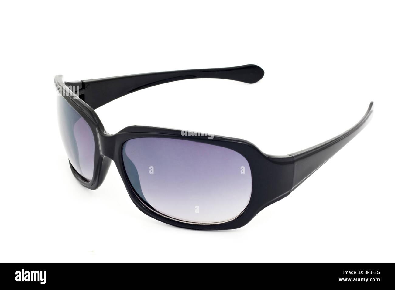 gehobene Qualität heißer verkauf rabatt abholen Sonnenbrille schwarz Kunststoff mit blau getönte Gläser auf ...