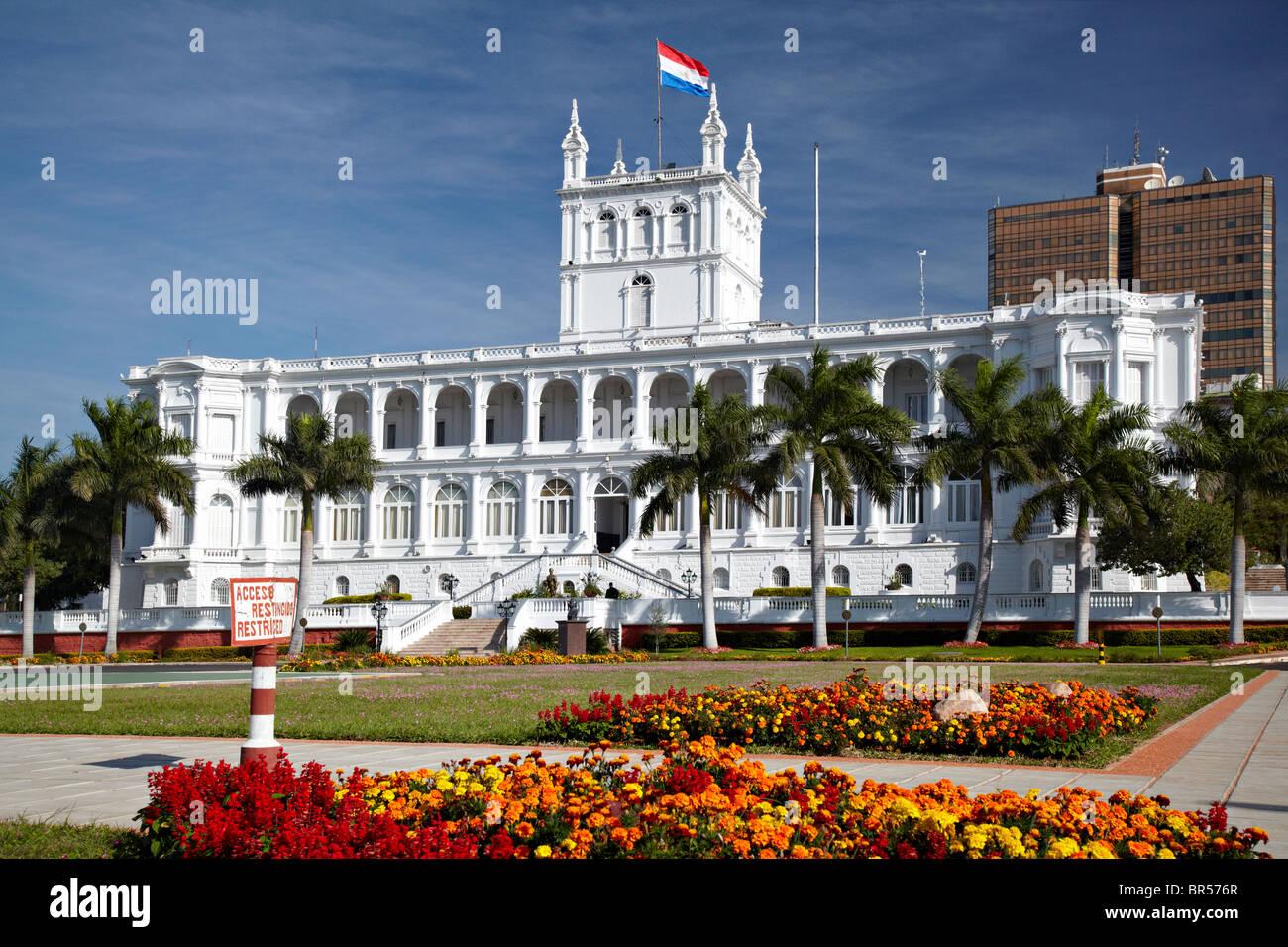 Palacio de Gobierno (Regierungspalast), Asuncion, Paraguay Stockbild