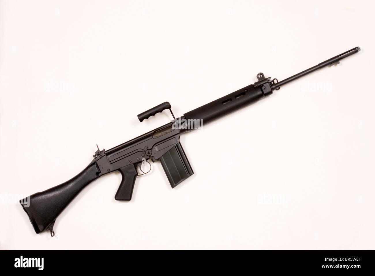 Eine L1A1 Gewehr während Bloody Sunday 1972 verwendet und jetzt von Rebellen in Sierra Leone verwendet. Stockbild