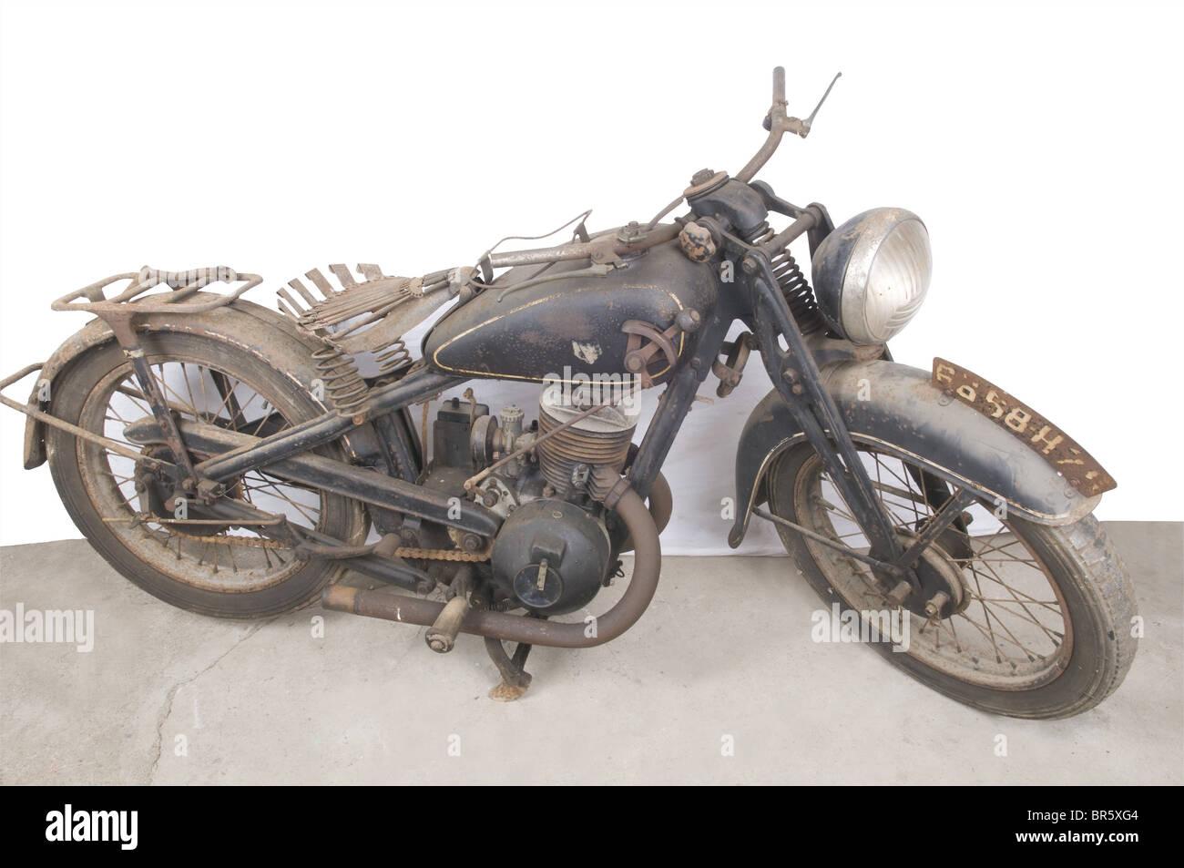 Eine DKW 350 SB Motorrad., 8399 Fahrräder von dieser Art nach 1934 produziert wurden. Dieser stammt aus dem Stockbild