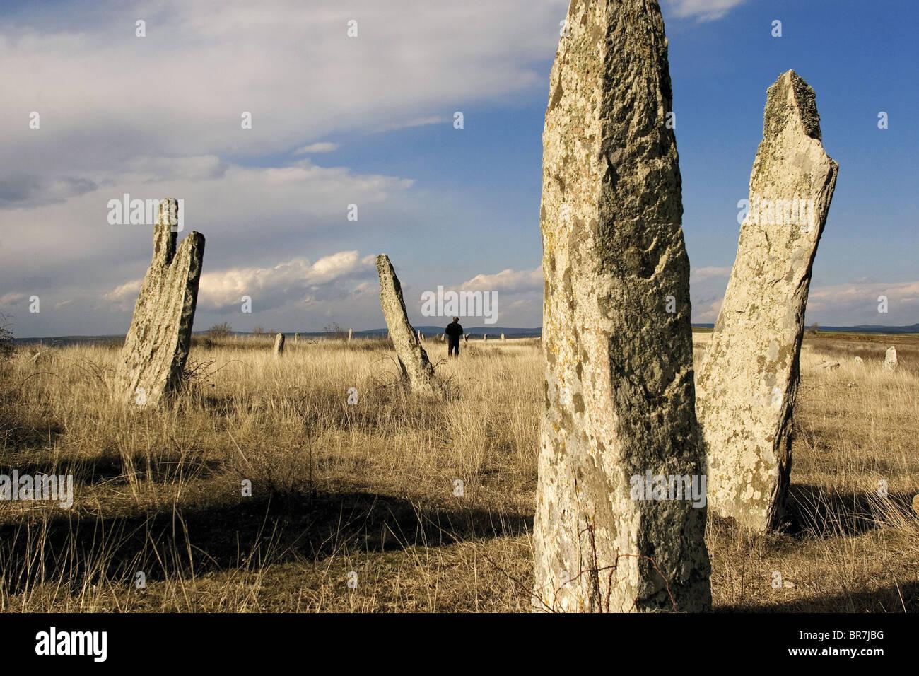Alten Dolmen in Thrakien Türkei Stockbild