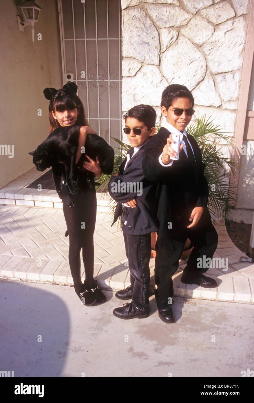 Kinder Kind junge Mädchen Halloween Kostüm Spaß Erholung Partei ...