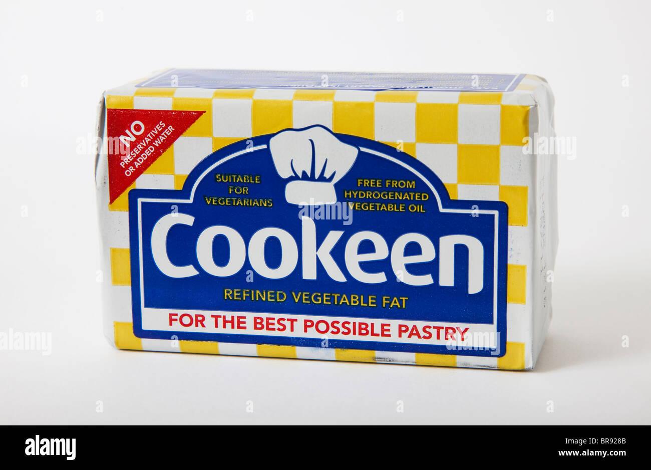 """Cookeen """"Kochen Fett"""" Stockbild"""