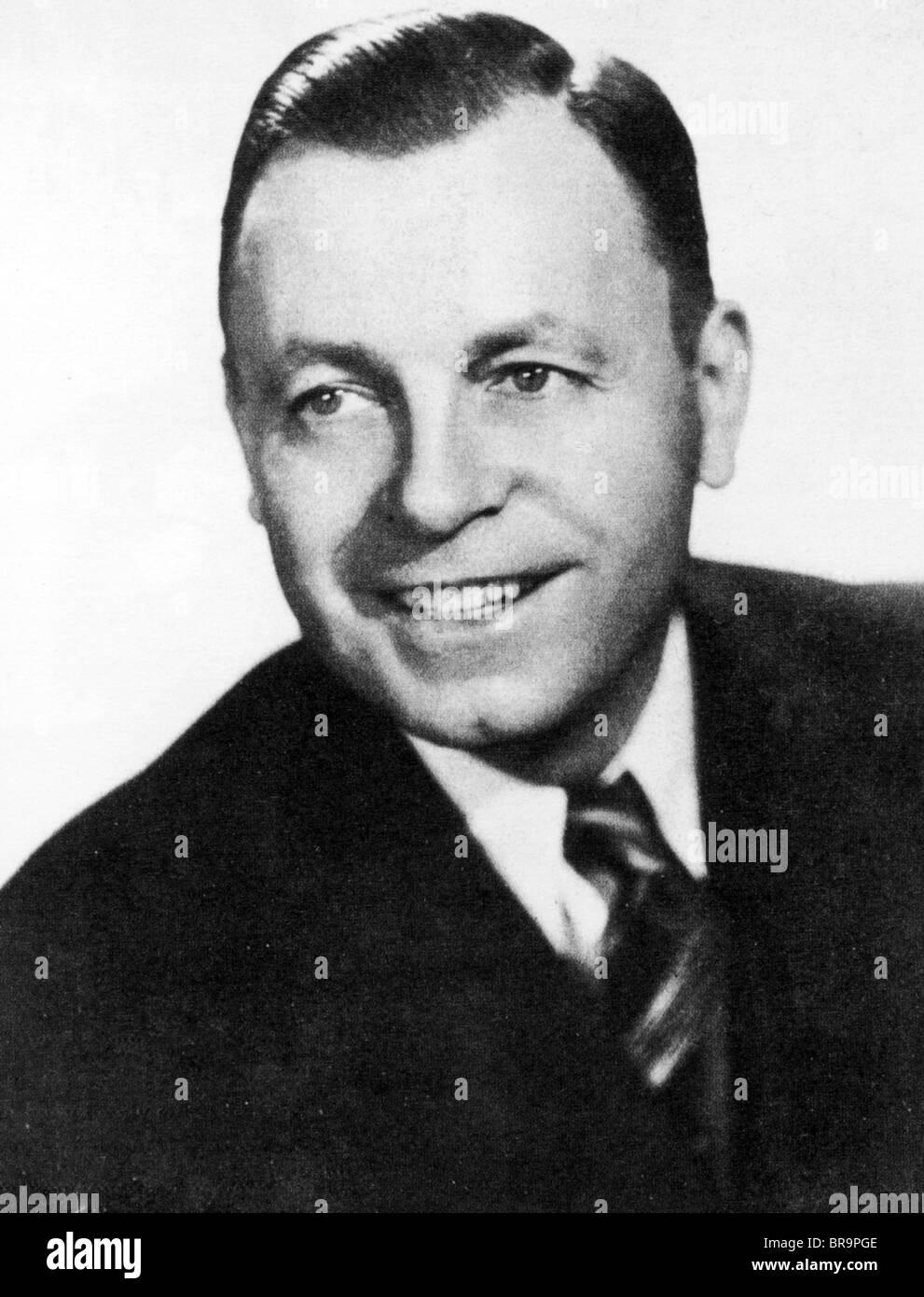 JIMMIE DAVIS - uns Country-Musiker und Politiker (1899-2000) Stockbild