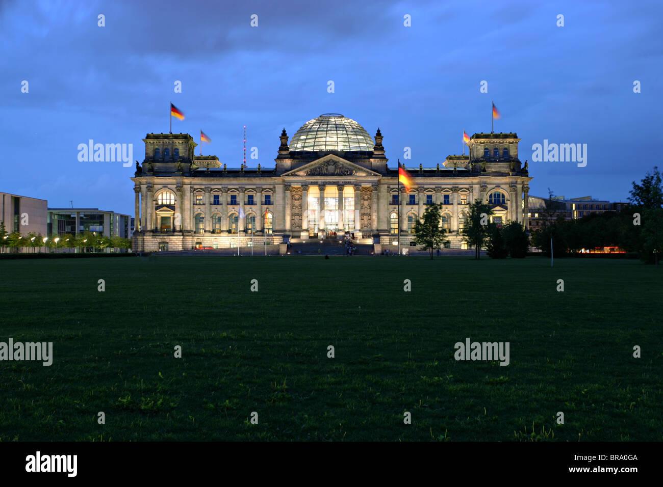 Berliner Reichstag Stockbild