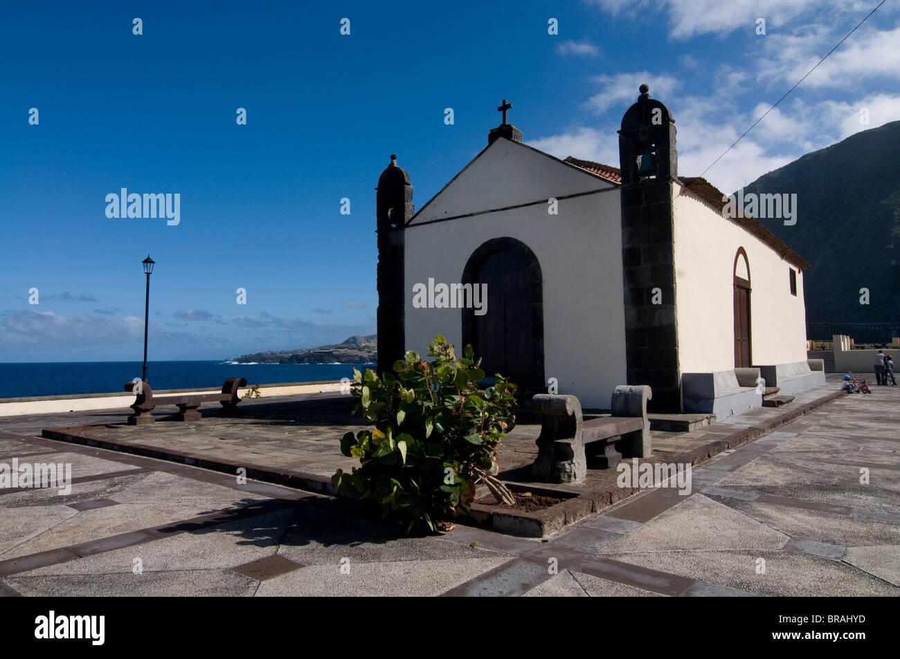 Kleine Kapelle in Garachico, Teneriffa, Kanarische Inseln, Spanien, Europa Stockfoto
