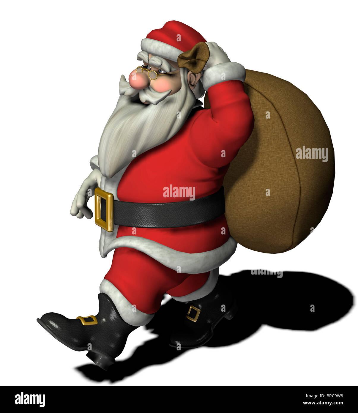 Santa Claus Stockbild
