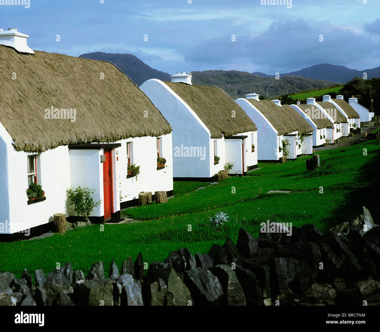 tullycross co galway irland urlaub auf dem land stockfoto bild 31630304 alamy. Black Bedroom Furniture Sets. Home Design Ideas