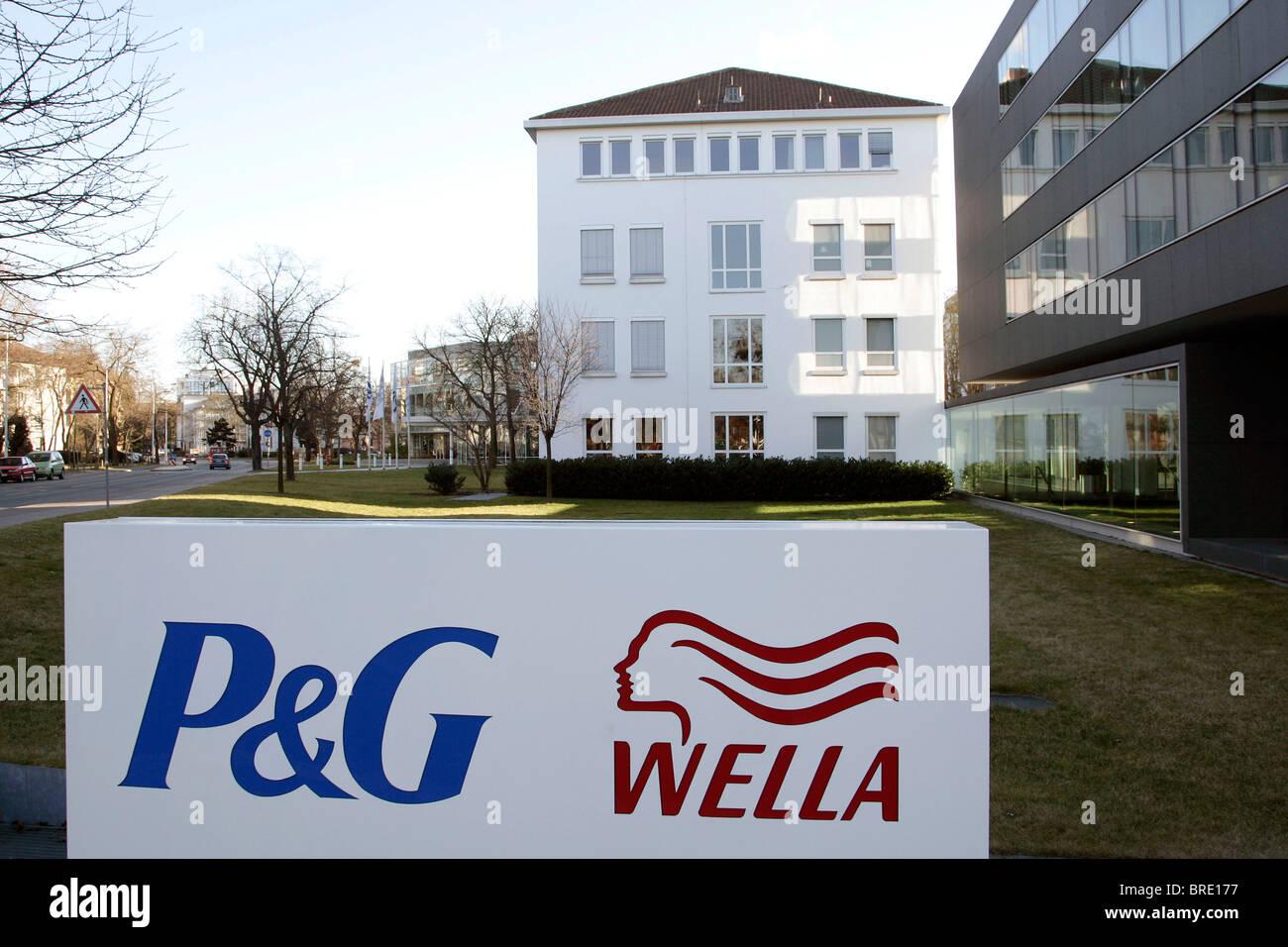 Hauptsitz Der Wella Ag Firma Kosmetik Herstellung