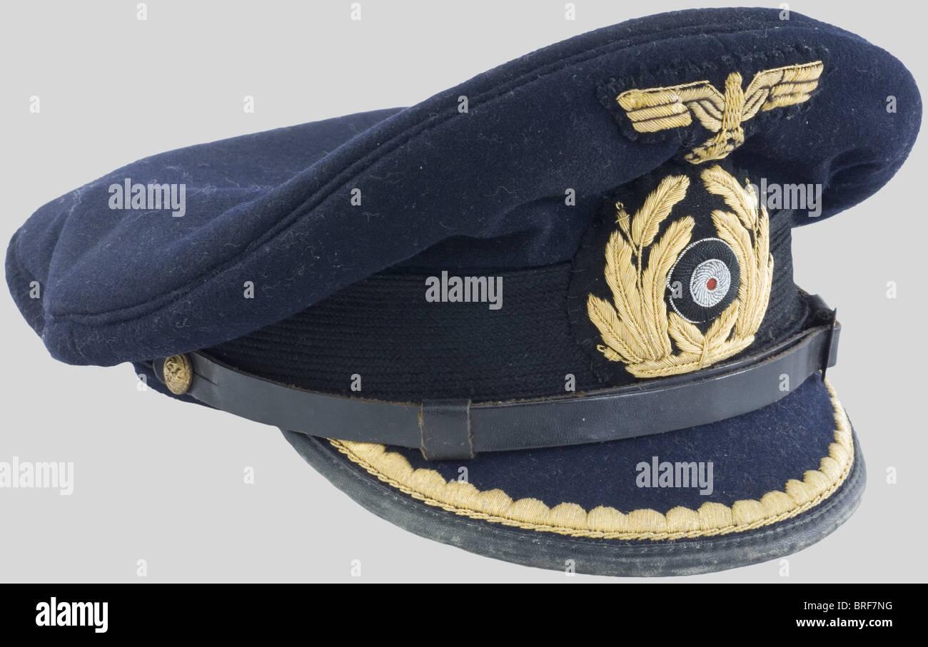 Kriegsmarine Coiffure D Officier Subalterne De La Kriegsmarine