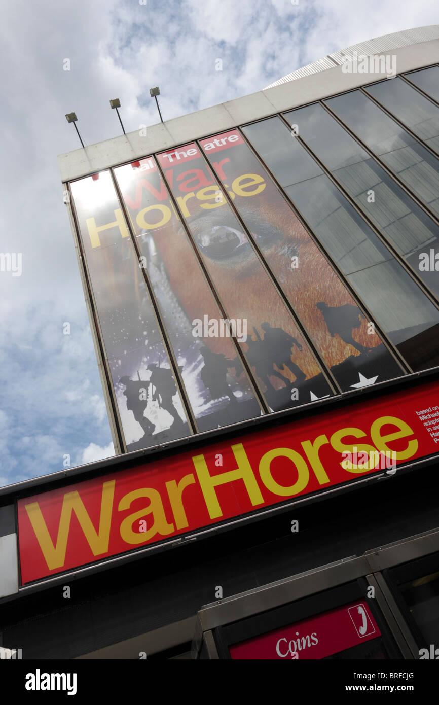 Fassade des Neuen London Theater in Covent Garden, London. Stockbild