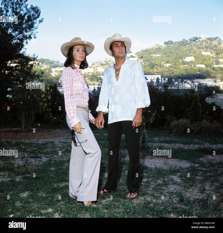 Leslie Allen Tony Curtis Heiratete Schauspieler Schauspielerin