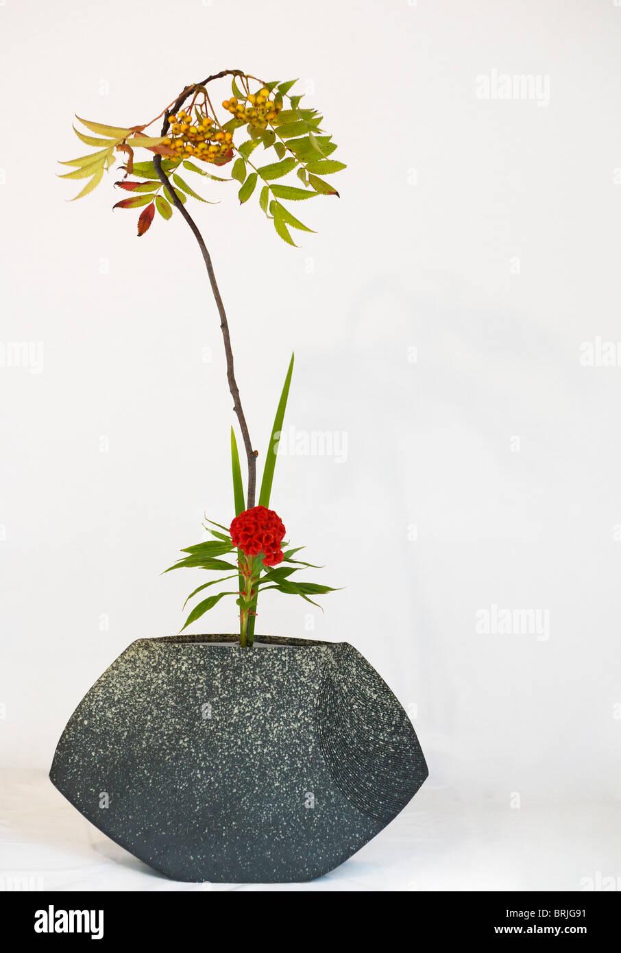 Ikebana stockfotos ikebana bilder alamy for Japanische blumenkunst