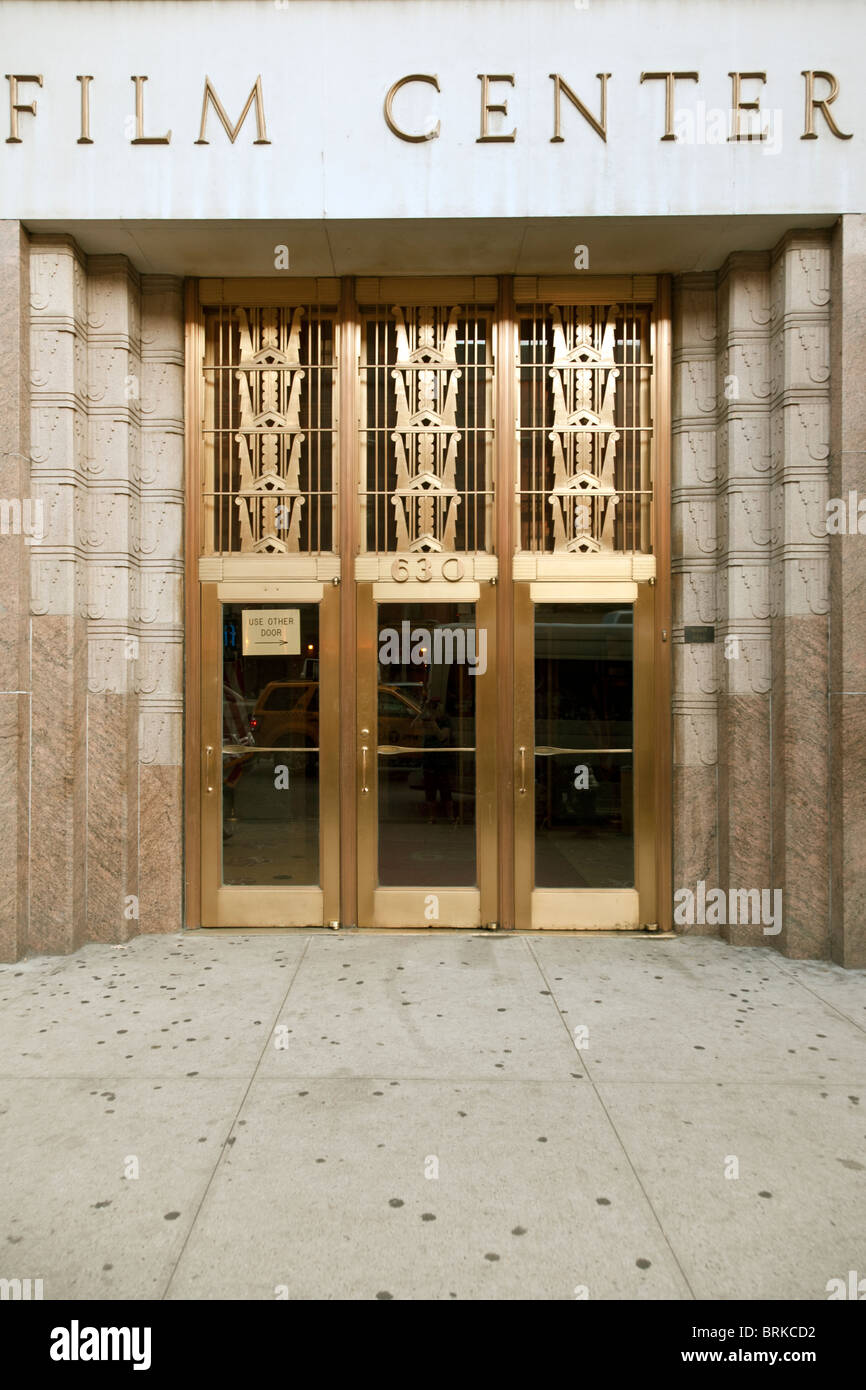 schön polierte Bronze Art Deco Eingangstüren & geschnitzten rosa ...