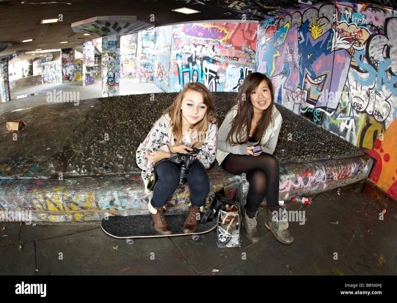 South London Mädchen