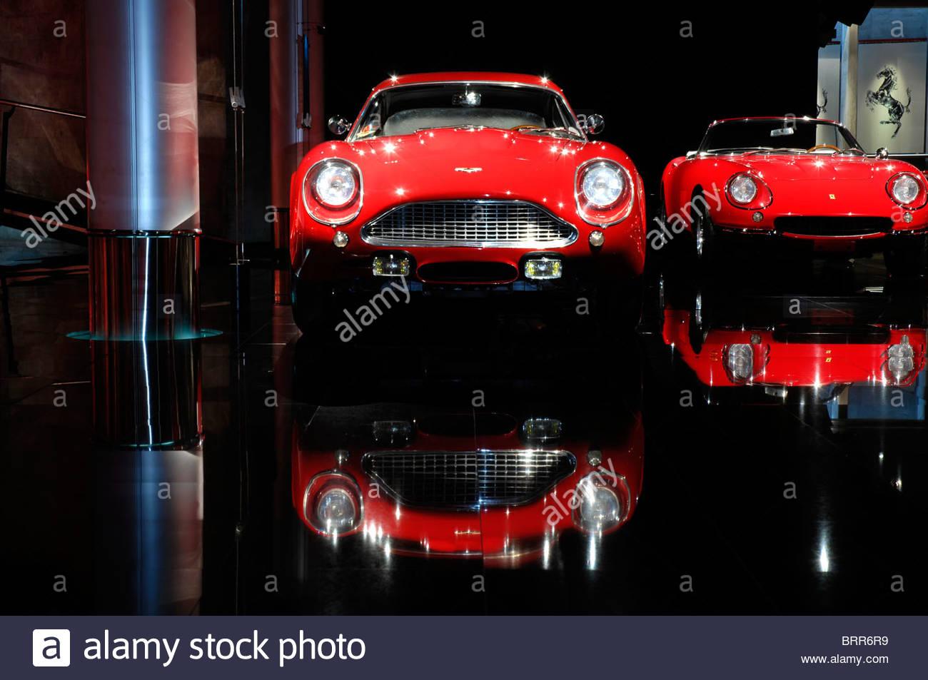 Aston Martin DB4 Zagato 1961 Stockbild
