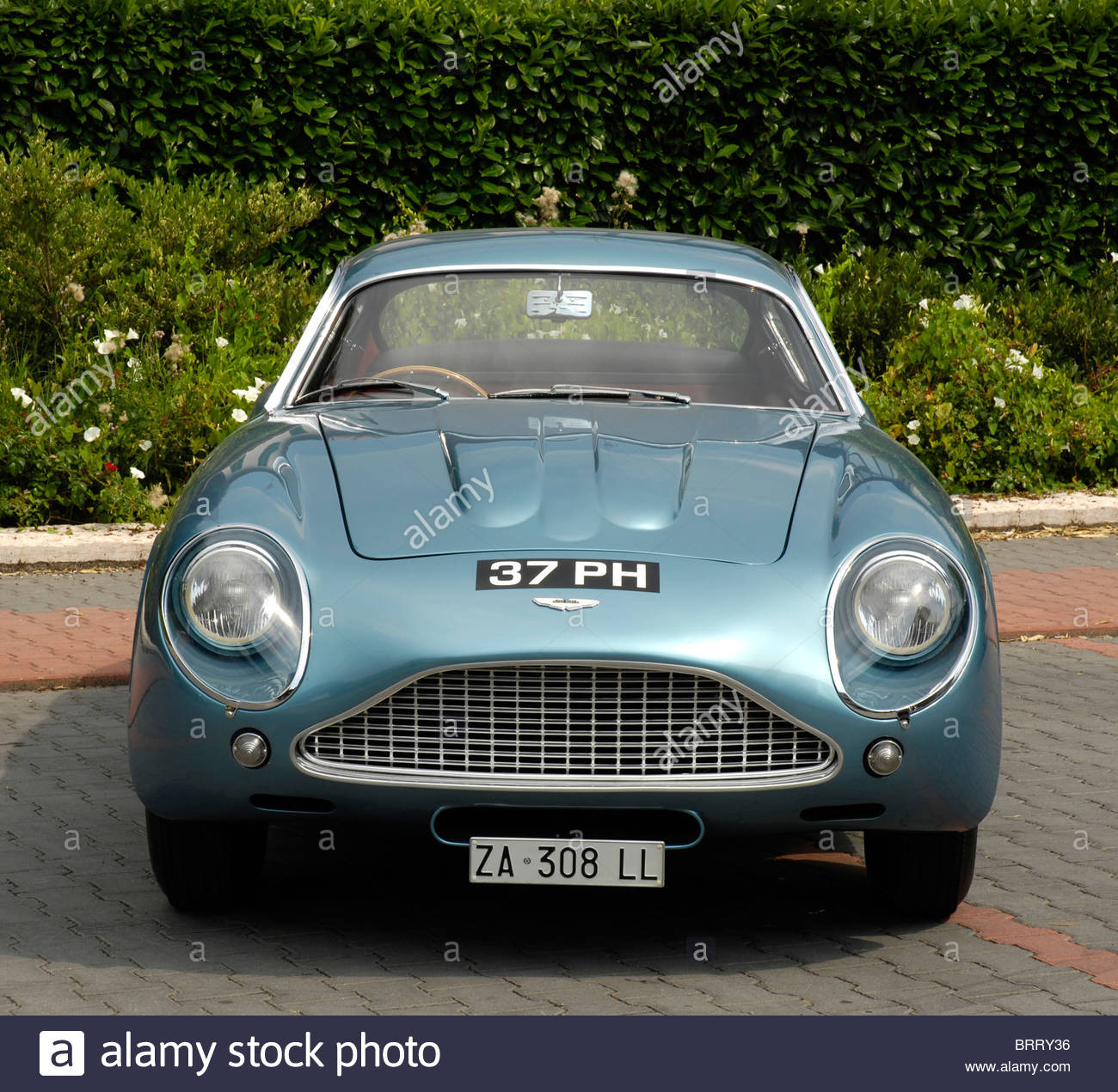 Aston Martin Zagato 1962 Stockbild