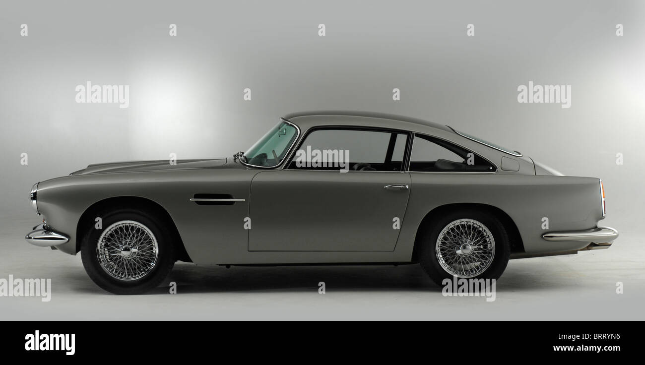 Aston Martin DB4 1962 Stockbild
