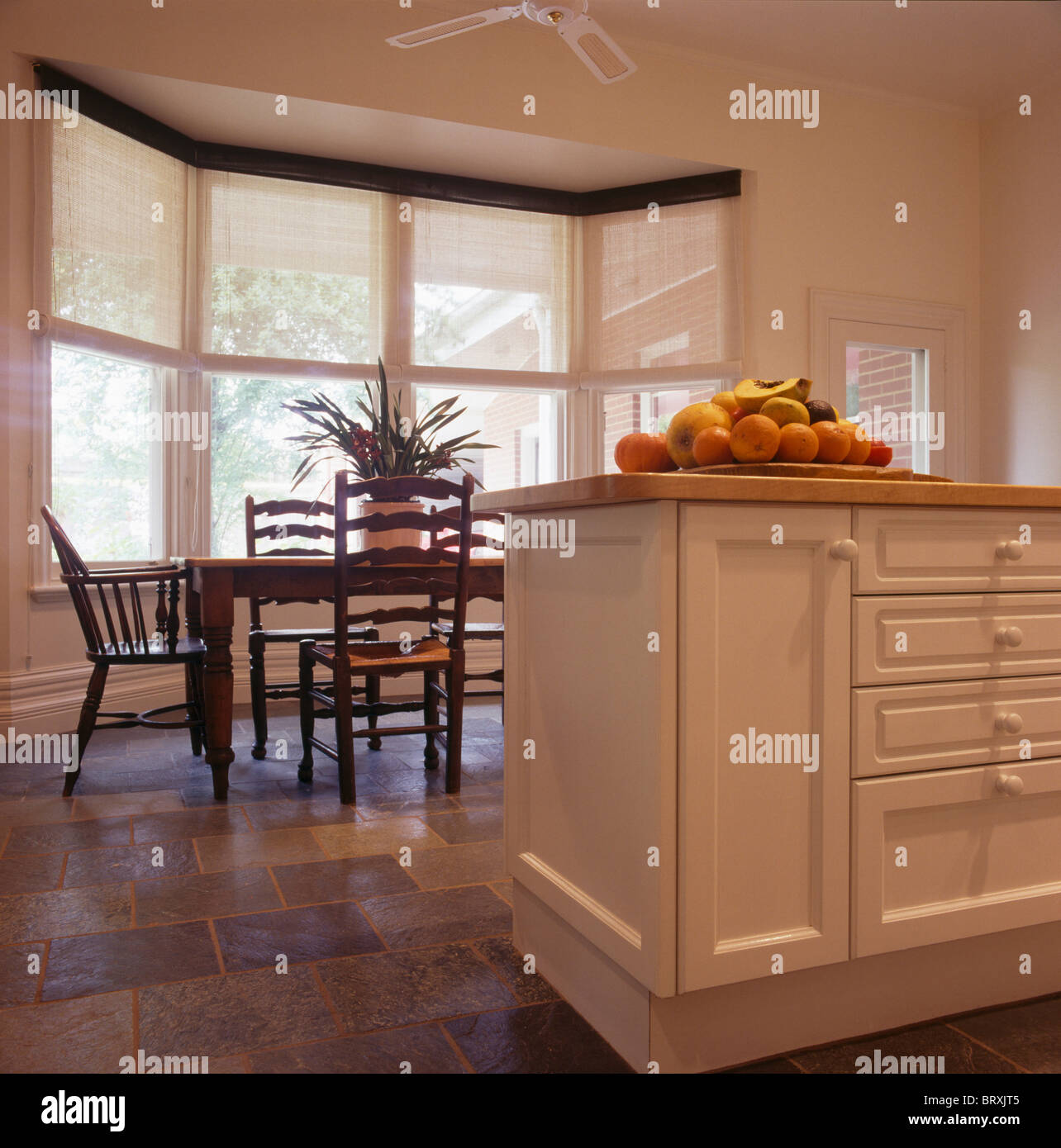 Interiors Traditional Kitchens Dining Rooms Stockfotos & Interiors ...
