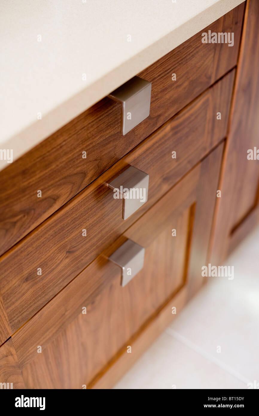 Kitchens Drawer Neutral Neutrals Stockfotos & Kitchens Drawer ...