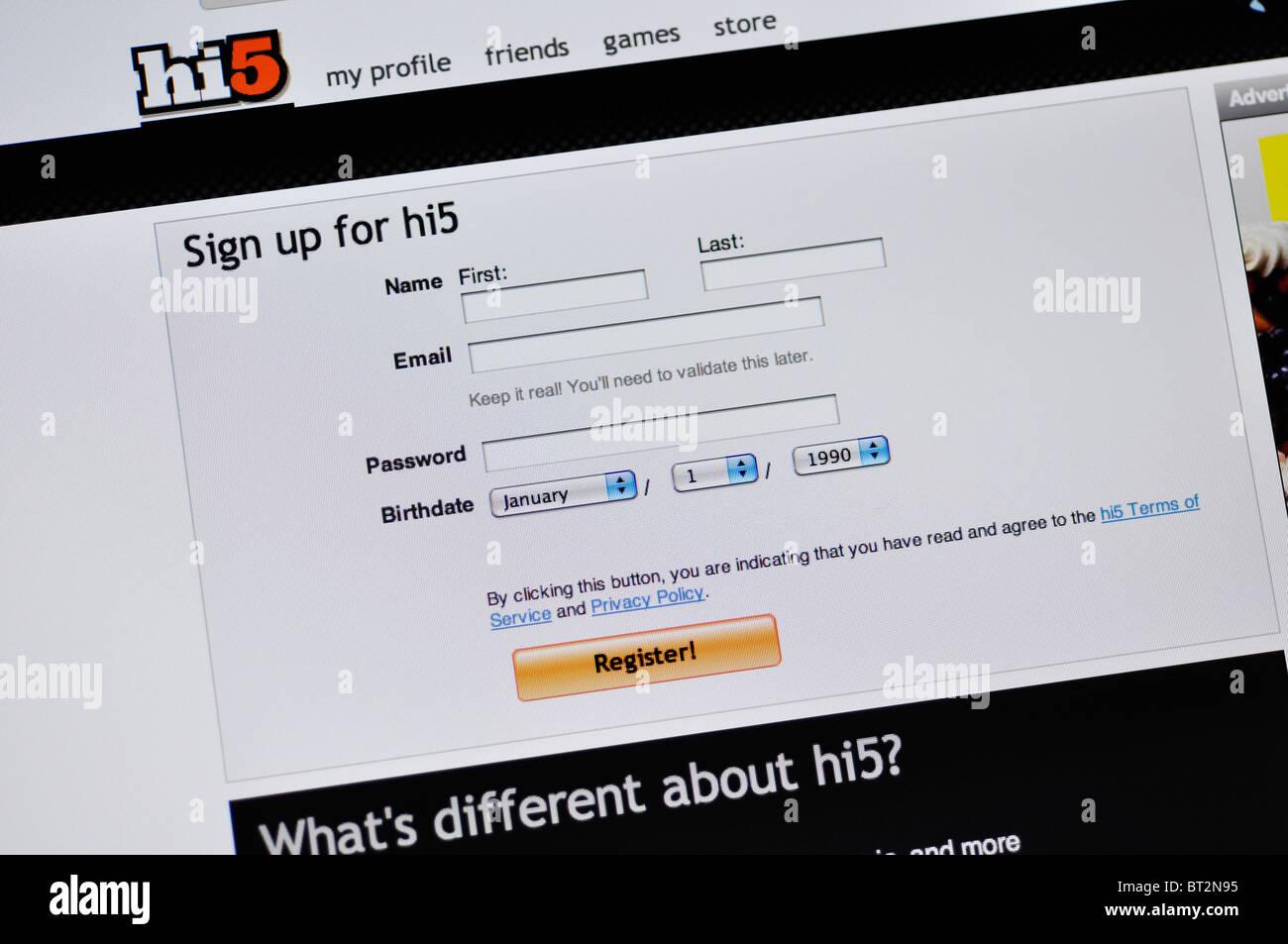 Einrichtung einer Internet-Dating-Website