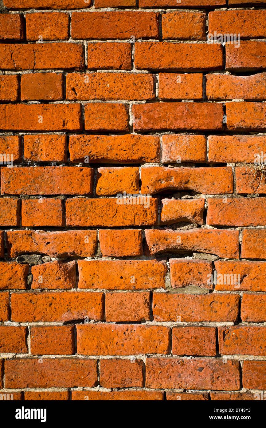 Red Brick wall Stockbild