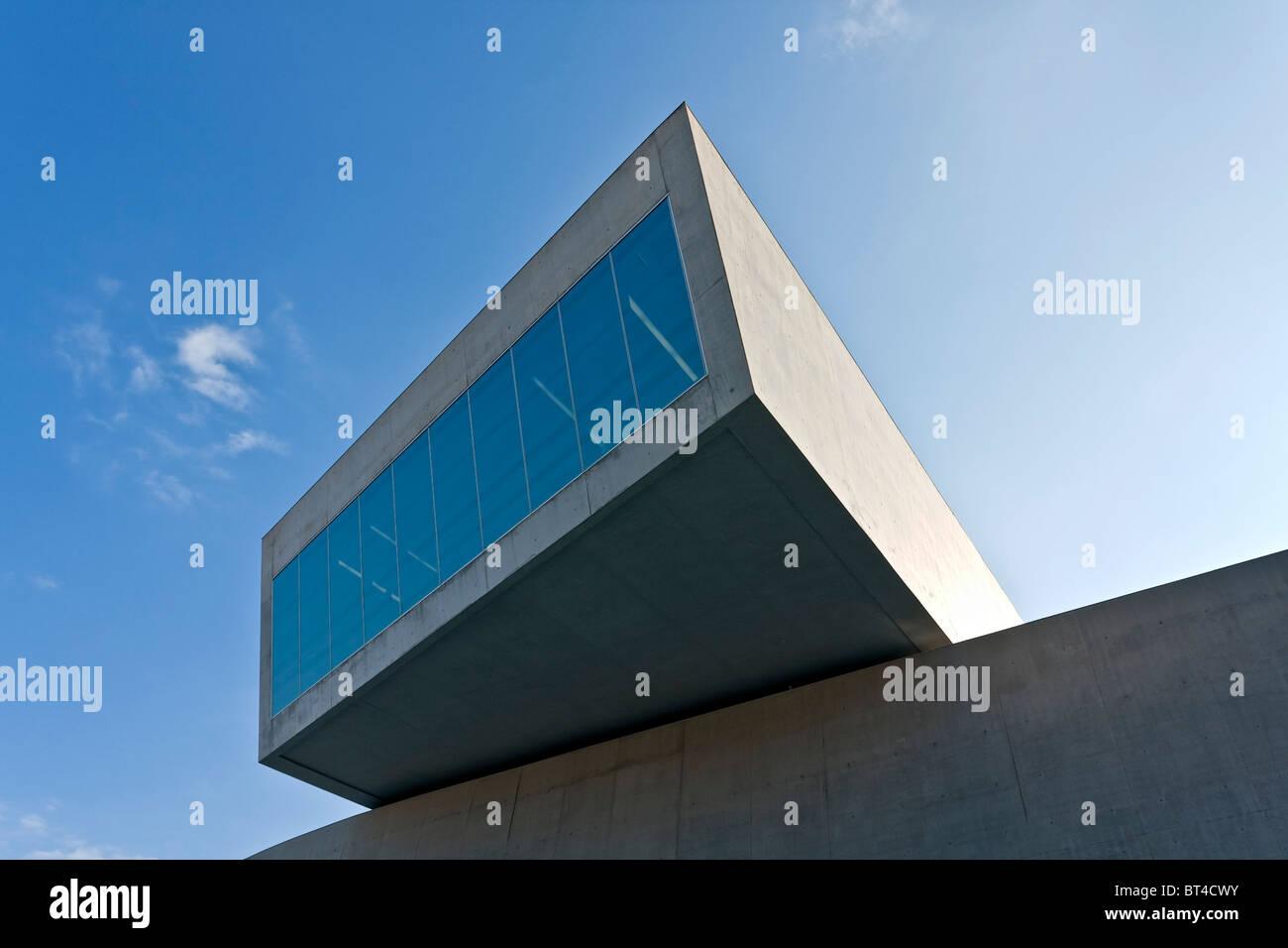 MAXXi Museum der XXI Jahrhundert Kunst, entworfen von Zaha Hadid Architects, Roma, Lazion, Italien Stockbild