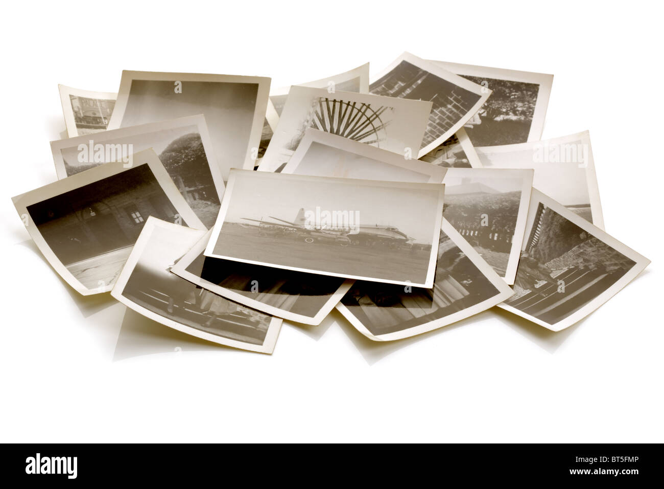 Alte Fotografien Stockbild