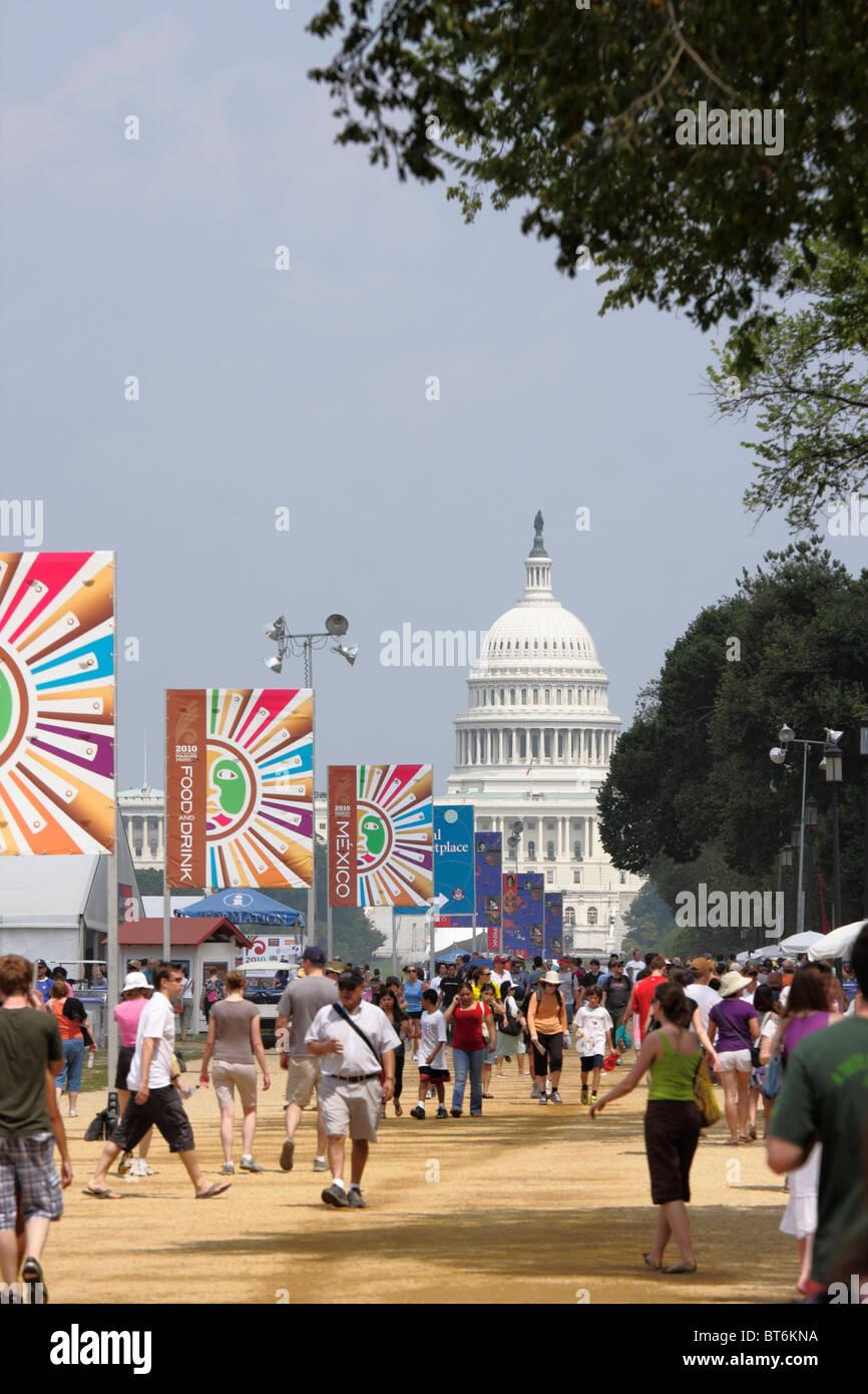 National Mall, Washington, DC Stockbild