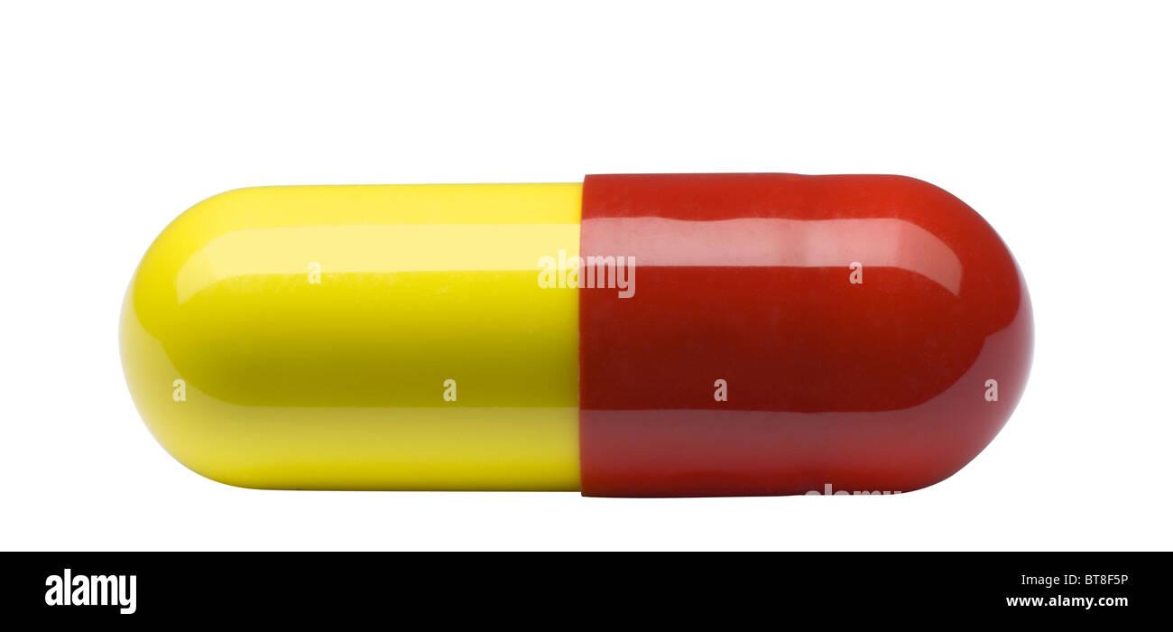 Medizinische Pille Kapsel. Stockbild