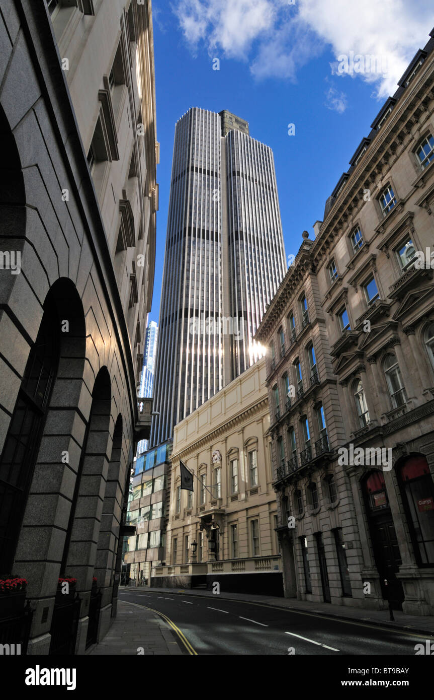 Tower 42, Old Broad Street, London EC2N, Vereinigtes Königreich Stockbild