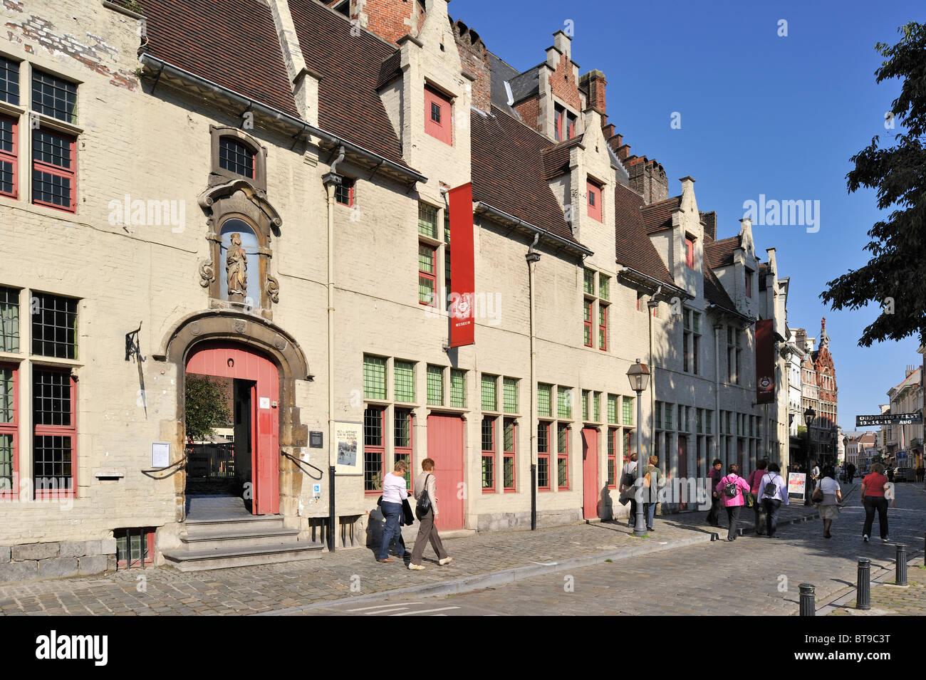 Das haus von alijn huis van alijn in gent belgien stockfoto bild