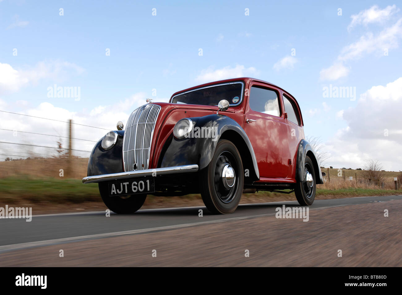 Morris 8 Serie E 1939 Stockbild