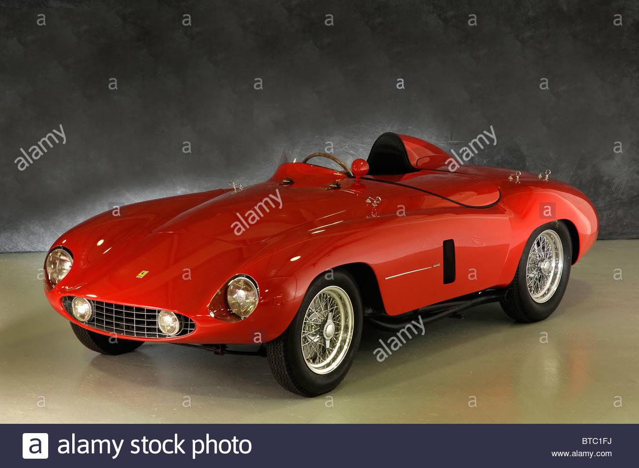 Ferrari 750 Monza 1955 Stockbild