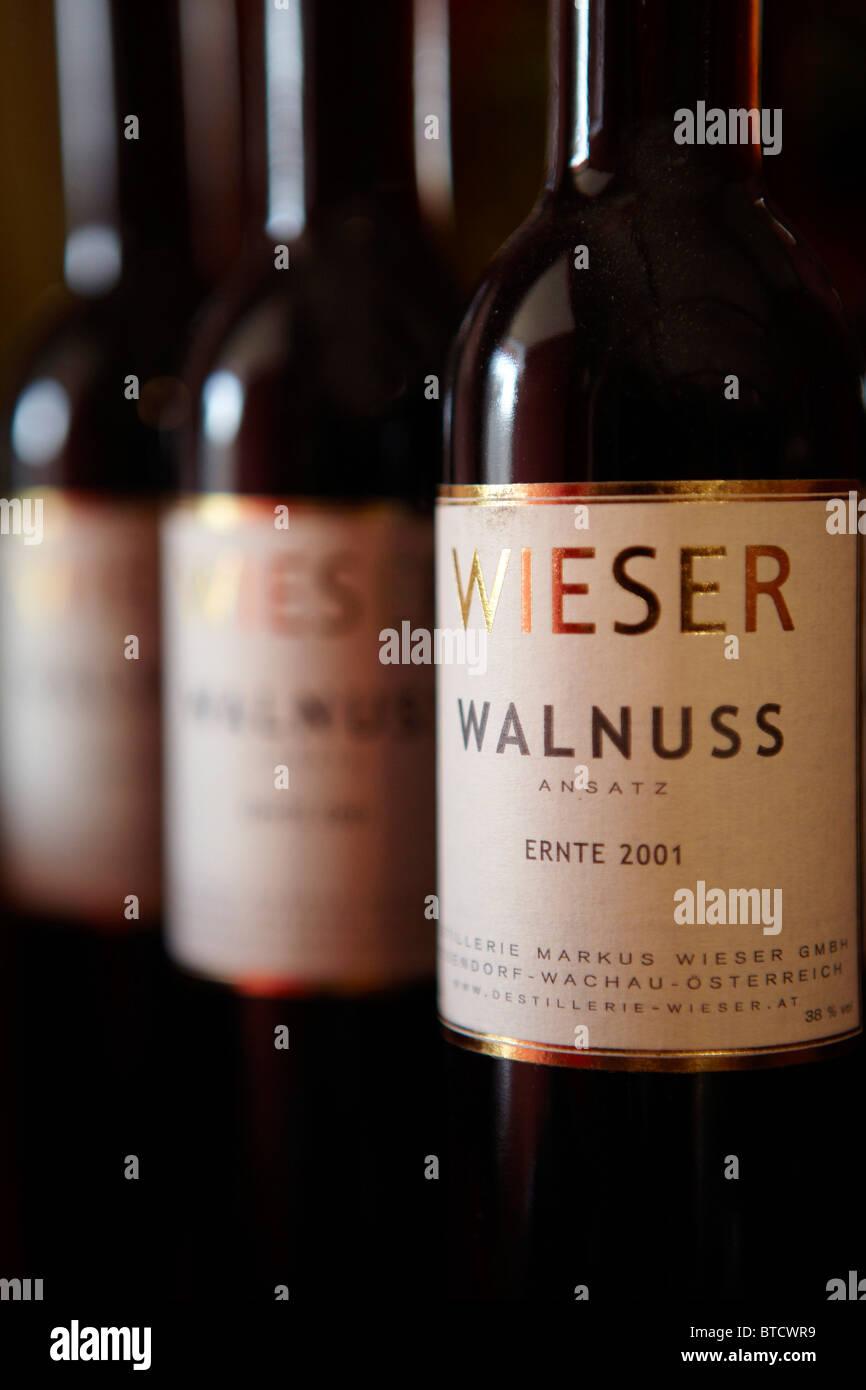 Weiser Walnuss Likör, Wachau Österreich Stockfoto, Bild: 32245789 ...