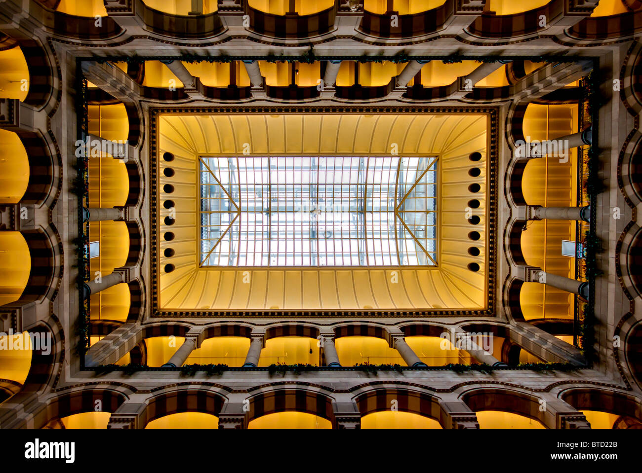 Interieur Bild Amsterdam Magna plaza Stockbild