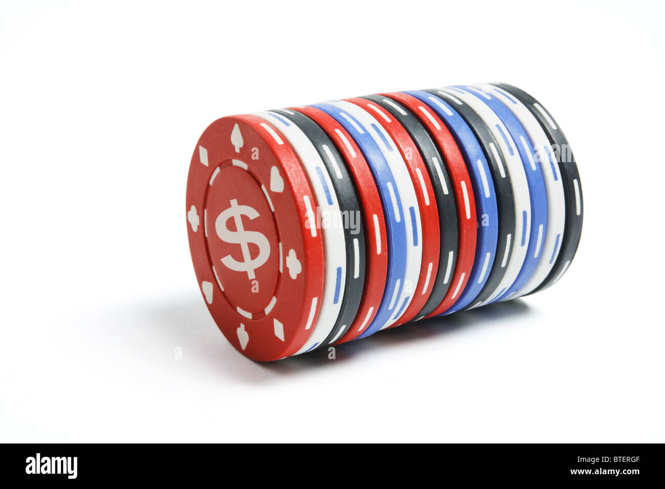 poker chips stapel