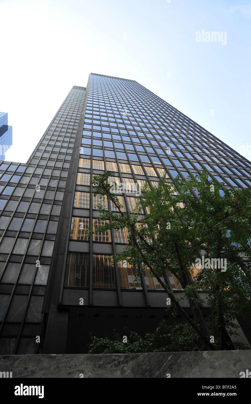 Seagram Building Von Mies Van Der Rohe New York Die 1