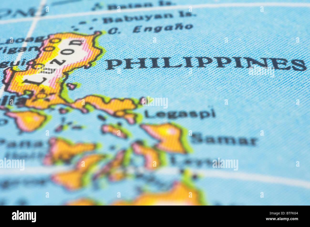 Karte Philippinen.Philippines Map Stockfotos Philippines Map Bilder Alamy