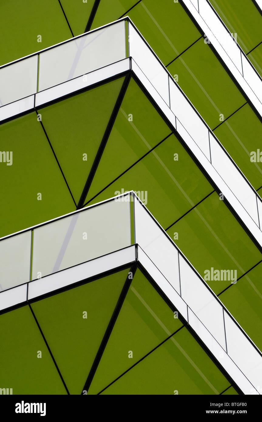 moderne zeitgenössische Architektur, London, england Stockbild
