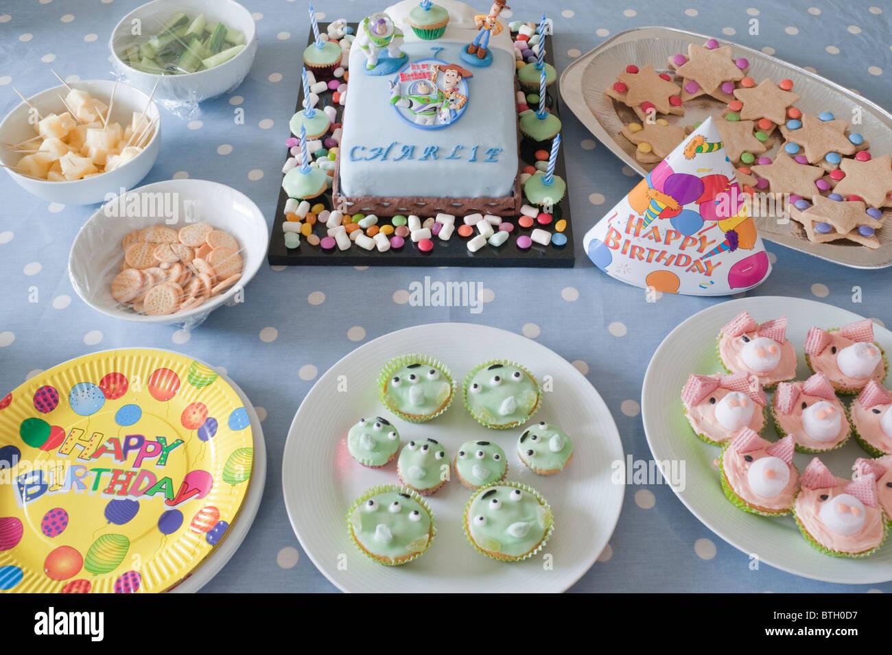 Geburtstag party essen