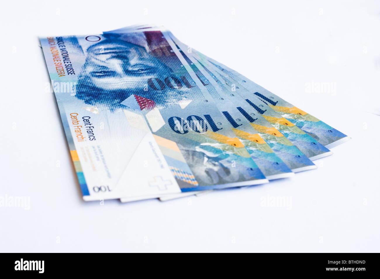 100 schweizer franken banknoten stockfoto bild 32346089 alamy. Black Bedroom Furniture Sets. Home Design Ideas