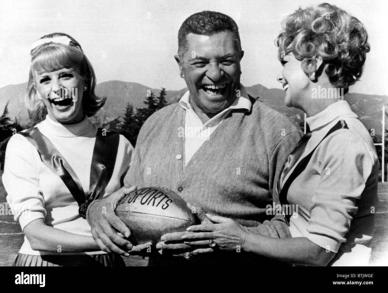 Vince Lombardi, General Manager von den Green Bay Packers und einer der erfolgreichsten Cheftrainer in der Geschichte Stockbild