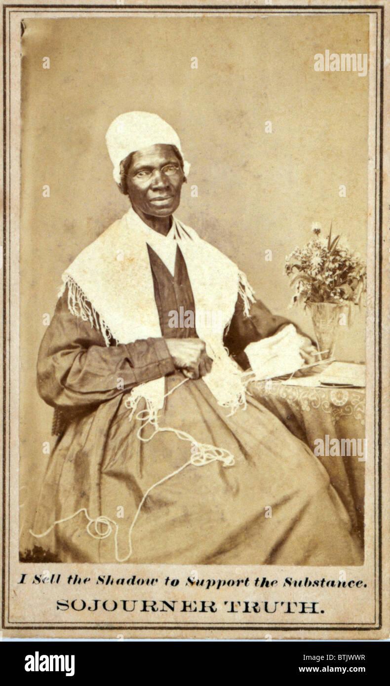 Sojourner Wahrheit 1797 1883 African American Und Lebenslangen Aktivist Fur Die Abschaffung Der