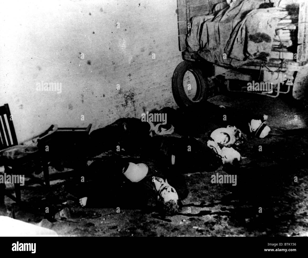 Valentinstag-Massaker, Chicago, 14. Februar 1929 Stockfoto, Bild ...
