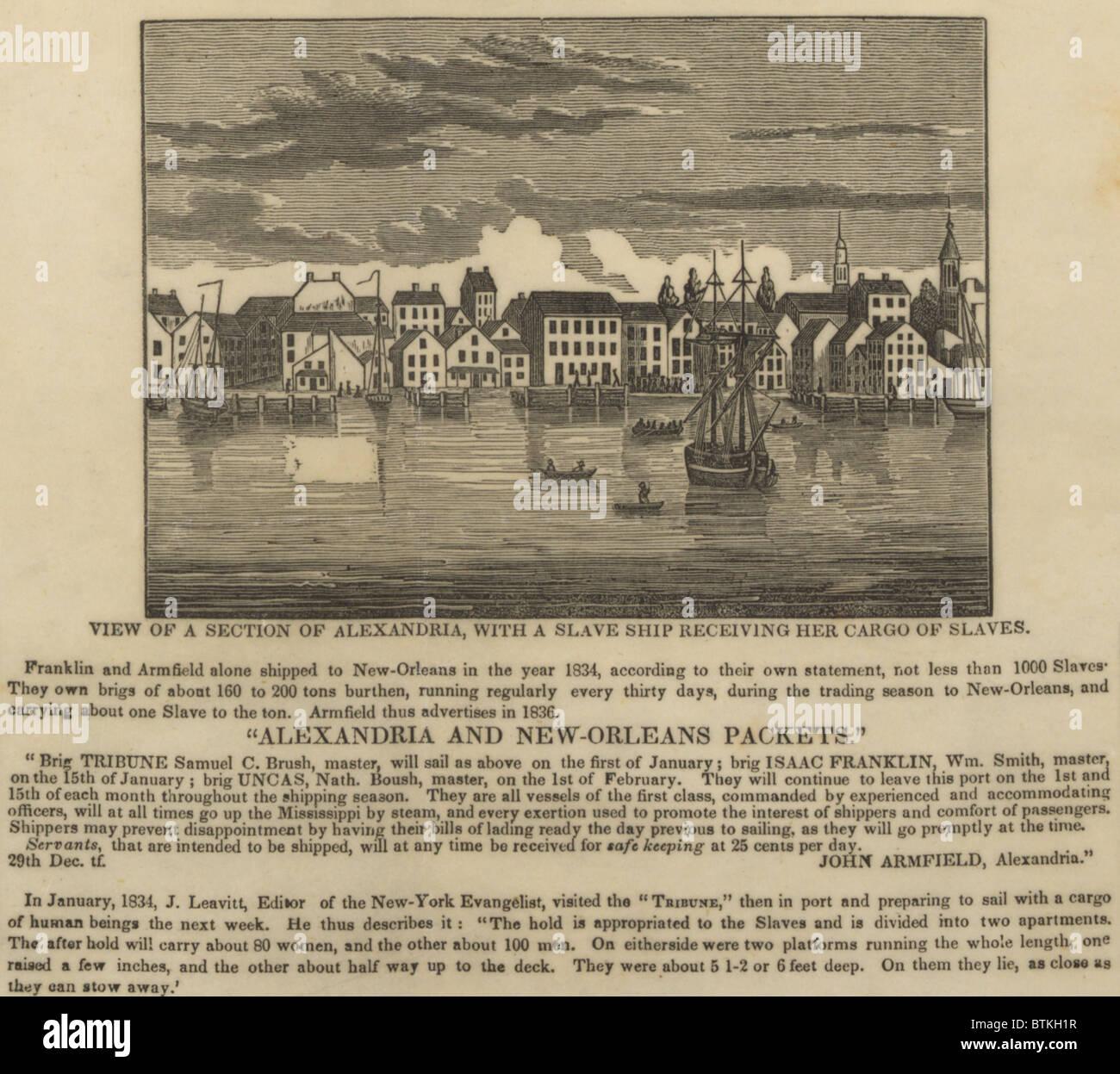 African Slave Trade Ship Stockfotos & African Slave Trade Ship ...