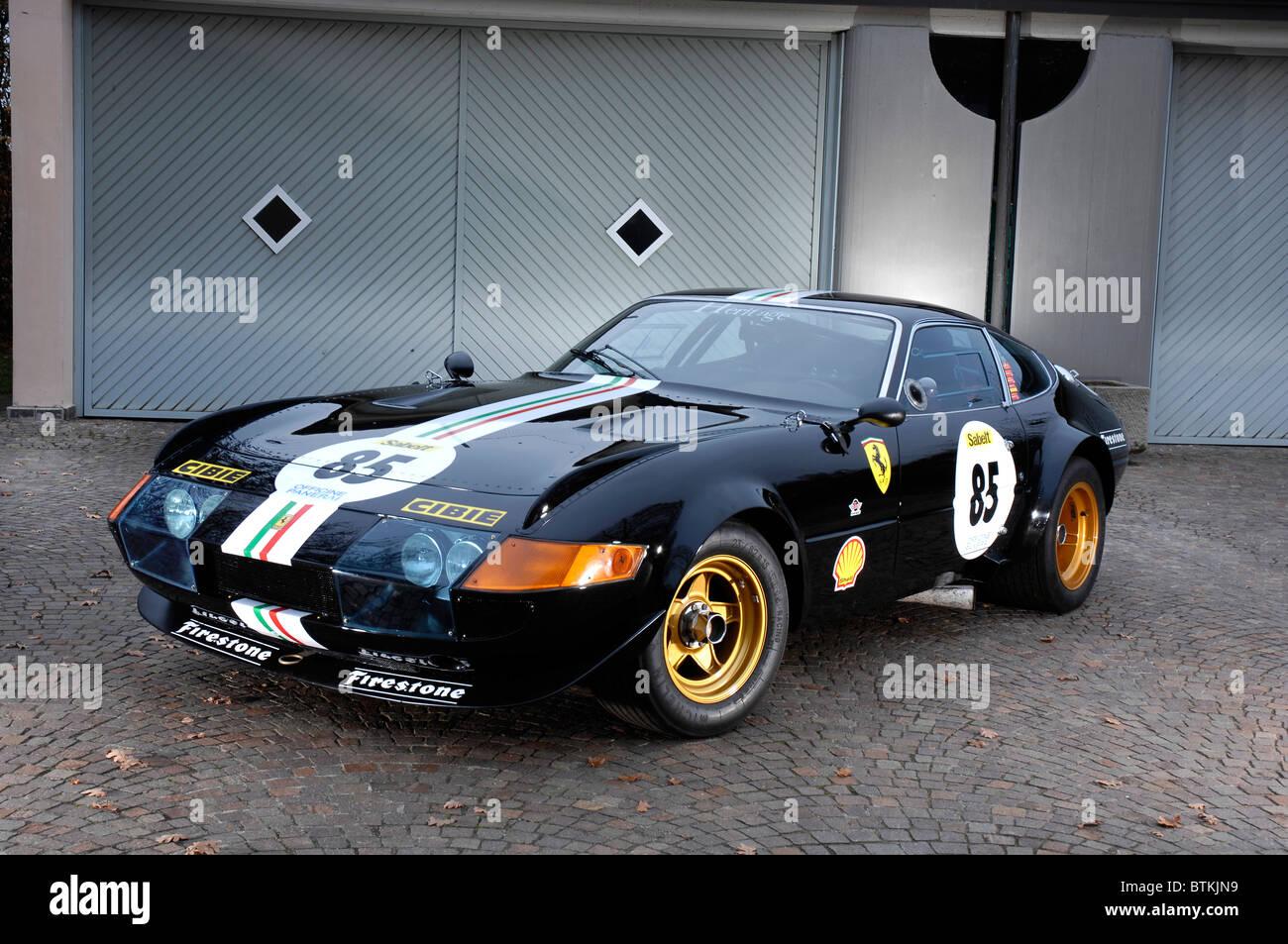 Ferrari Daytons 1972 Stockbild
