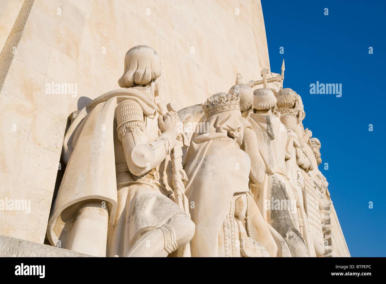 Denkmal der Entdeckungen, Lissabon, Portugal Stockbild