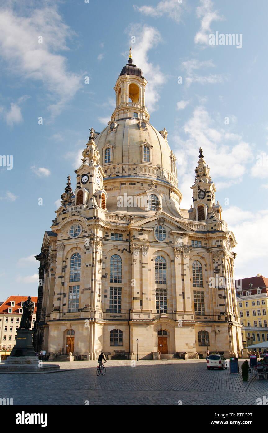 Deutschland, Sachsen, Dresden, Frauenkirche Stockbild