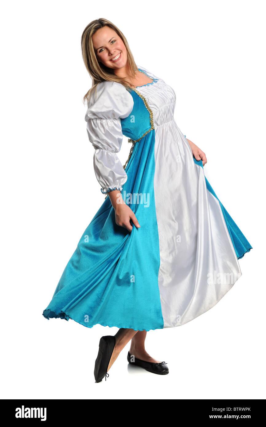 Medieval Woman Dress Stockfotos & Medieval Woman Dress Bilder ...